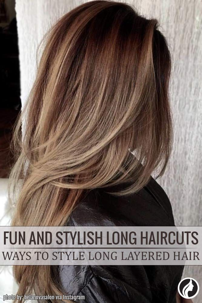 Carrying long hair is always in style and fashion but if you are bored with current haircut there are plenty of long hair styles to follow!
