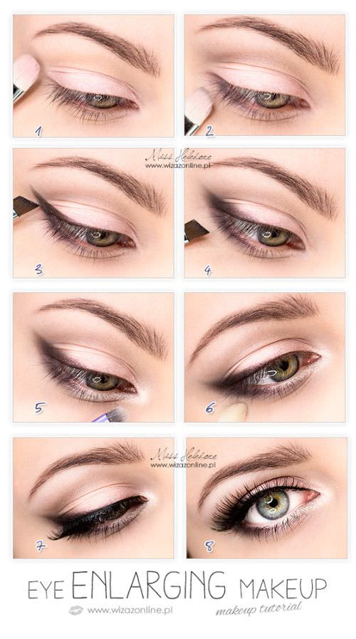 Make your eyes pop with these quick and simple makeup tutorials.