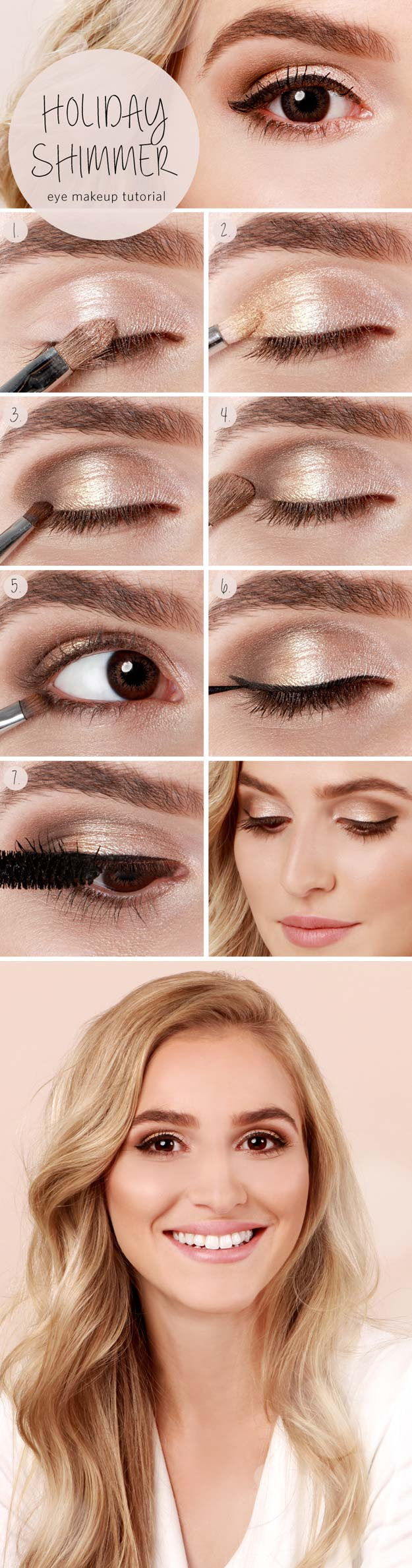 Check out these easy step by step makeup tutorials that are perfect for teens and beginners.