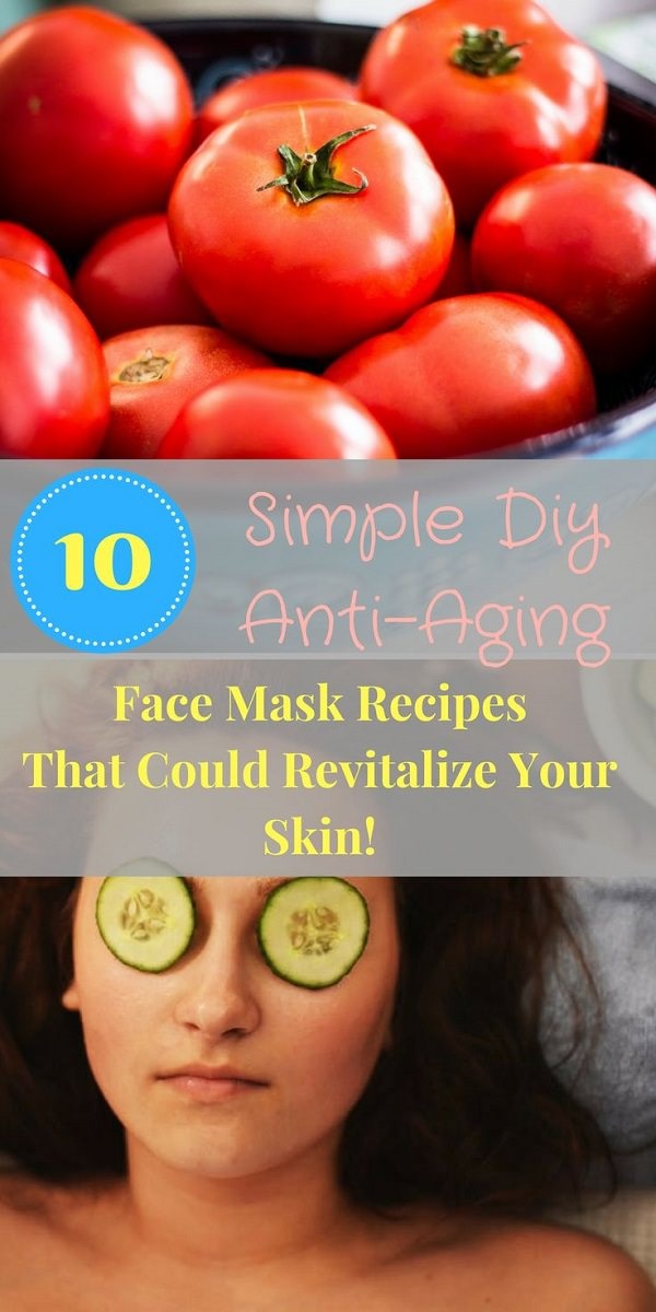 Make your own easy homemade face masks using one of these 10 all-natural-ingredient recipes.