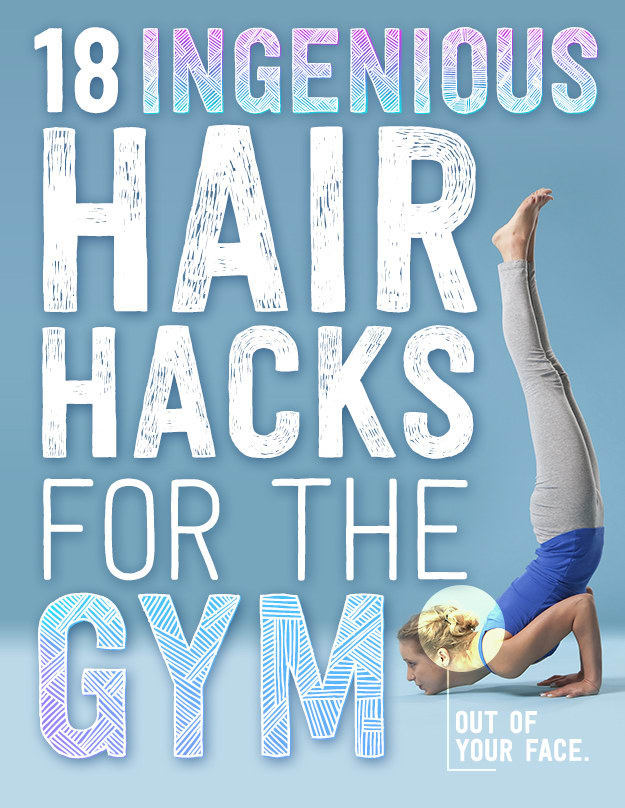 Having your hair falling in your face while at the gym is terrible! Here are 18 easy hairstyles that keep your hair far from in your face.