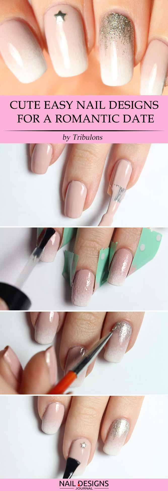 diy-nails-easy-designs-romantic-look