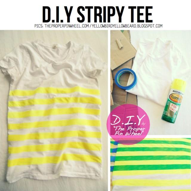 Stripy-Tee